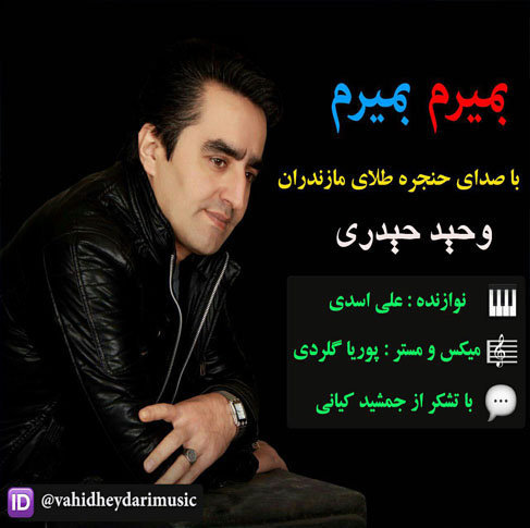 دانلود آهنگ مازندرانی بمیرم بمیرم با صدای وحید حیدری