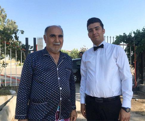 حاج میثم رضایی در کنار حاج رمضان فکوری