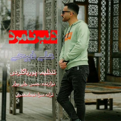 آهنگ جدید دلبر نامرد با صدای علی ذبیحی
