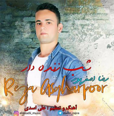 آهنگ شب زنده دار با صدای رضا اصغرپور