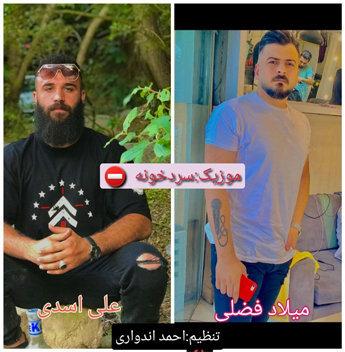 آهنگ سردخونه با صدای میلاد فضلی و علی اسدی